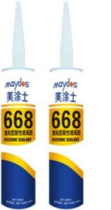 Maydos Silicone Acid Adhesive Acetic Silicone Sealant 668 pictures & photos