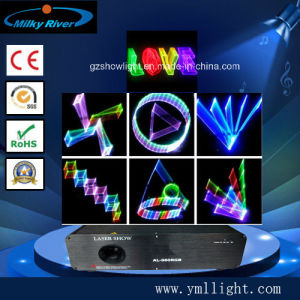 3D RGB / Full Color Animation Laser--Total 760MW pictures & photos
