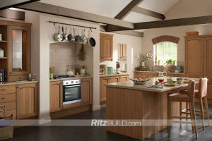 UV Kitchen Cabinet/Acrylic Kitchen Cabinet/High Gloss Kitchen Cabinet pictures & photos