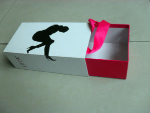 Handmade Shoes Box Packing with Clear Window and Bag accessory pictures & photos
