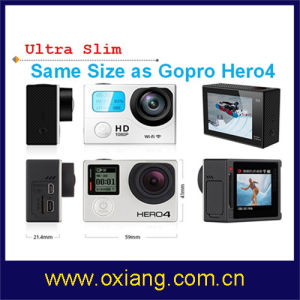 Double Screen WiFi Sport Camera 1080P 30fps pictures & photos