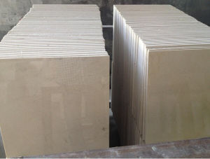 High Selected Quality Polished Spain Crema Marfil Marble Tiles for Wall Cladding pictures & photos