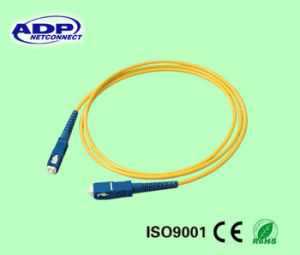 Hihg Quality Sc-FC Optical Fiber Optic Armored Patch Cord Cable pictures & photos