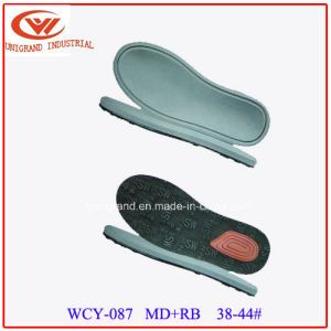 Summer Best Sale Sandals Outsole Not-Slip Outdoor Beach Sole with EVA and Rb/TPR Material pictures & photos