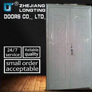 Popular Style Steel Security Double Door pictures & photos
