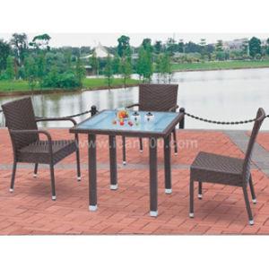 Garden Furniture Outdoor Rattan Wicker Dining Set (WS-06003) pictures & photos