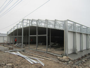 H Beam Welded Poultry House with Full Sets Poultry Equipments pictures & photos