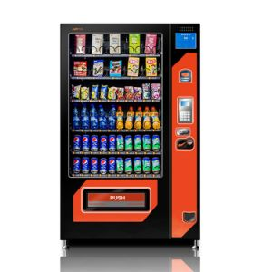 Snack and Beverage Vending Machine with Refrigeration Unit pictures & photos