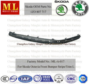 Protective Bumper Trim for Skoda Octavia From 2004 (1Z0 807 717) pictures & photos