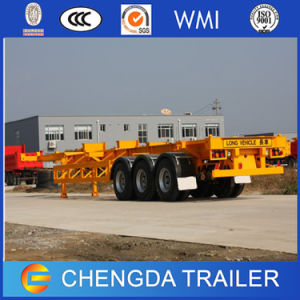 3 Axles 20FT 40FT Skeleton Container Trailer Price in India pictures & photos