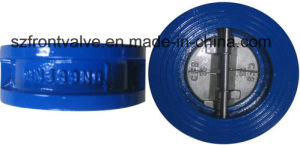 Cast Iron/Ductile Iron Wafer Dual Plate Check Valves pictures & photos