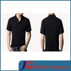 Fashion Polo Neck Cotton T-Shirt for Man (JS9024m) pictures & photos