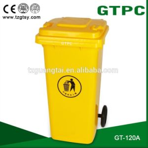 Outdoor Plastic Waste Bins with Wheels pictures & photos