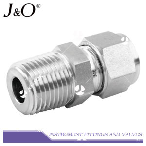 Stainless Steel Double Ferrule Male Connector pictures & photos