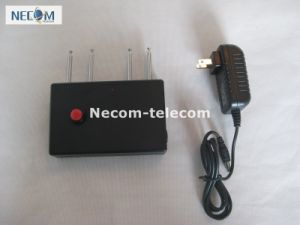 310MHz/ 315MHz/ 390MHz/433MHz Portable Quad Band Remote Control Jammer, Portable 4 Antenna Jammer for All 310MHz/ 315MHz/ 390MHz/433MHz pictures & photos