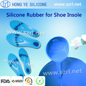 Hot Sale Translucent RTV Silicone Rubber for Silicone Heel Cups Making pictures & photos