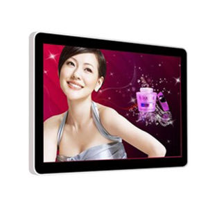 Simple Style Wall-Mounted Single Version Advertising Machine pictures & photos