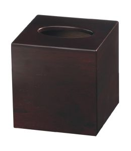 Mahogany Wooden Square Tissue Box pictures & photos
