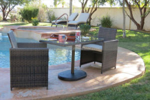 Mtc-239 Rattan Furniture Outdoor Chair Tea Table Set Kd pictures & photos