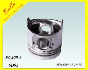 Pistion for Excavator Engine PC200-5 (Part number: 6207-31-2141N) pictures & photos