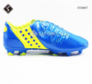 Athletic Men Football Boots Sports Soccer Shoes pictures & photos
