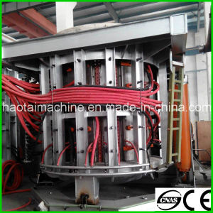 China Ht Sales 10t, 12t, 15t, 30t Medium Frequency Induction Melting Furnace pictures & photos