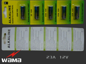 23A 12V Alkaline Battery Used for Car Key