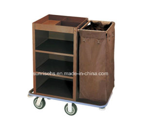 Hotel Housekeeping Maid Cart pictures & photos
