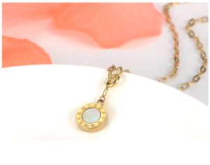 Fashion Necklace Stainless Steel Jewelry Pendant Shell Necklace (hdx1020) pictures & photos