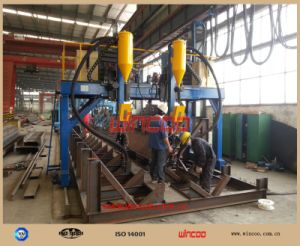 Automatic Welding Machine for Steel Structure Fabrication/ H Beam Welding Machine pictures & photos