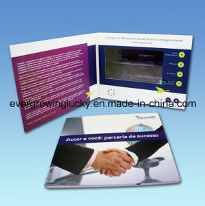 7inch LCD Screen Video Brochure for Advertising pictures & photos