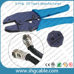Hex Crimp Tool for Rg59 RG6 Rg11 Coaxial Cable F Crimp Connector (NT-H301X) pictures & photos