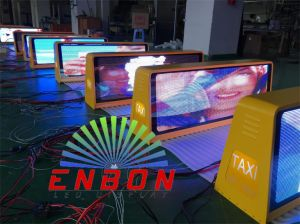 P5 Full Color Taxi LED Sign Double Side for Advertising pictures & photos