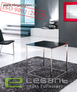 New Glass Coffee Table with High Quality Stainless Steel Leg pictures & photos