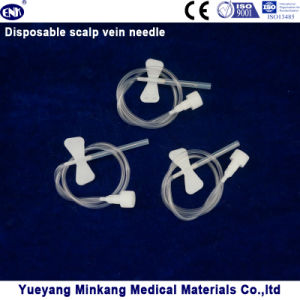 Disposable Scalp Vein Needle 19g (ENK-TPZ-008) pictures & photos
