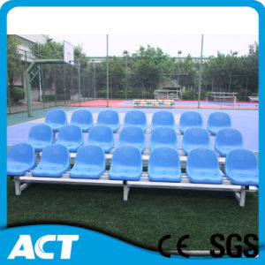 Outdoor Portable Metal Bleacher with Plastic Stadium Seats of Guangzhou pictures & photos