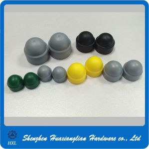 Different Types Black/Grey/Yellow/Green Color Plastic Cap for Hex Bolt Nut pictures & photos