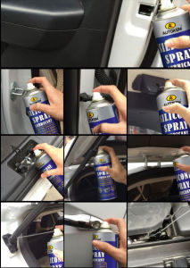Non-Toxic Silicone Spray, Silicone Lubricant Aerosol, Multi-Purpose Lubricant pictures & photos