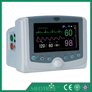 CE/ISO Approved Hot Sale Medical Portable Multi-Parameter Patient Monitor (MT02001153) pictures & photos