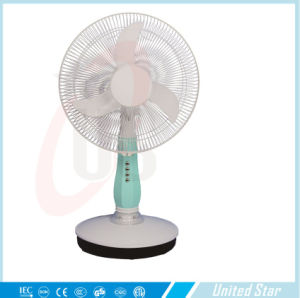 12inch Oscillating Rechargeable Table Electrical DC Fan pictures & photos