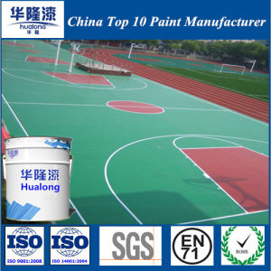 Hualong Colorful Strong Weatherability Floor Paint pictures & photos