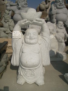 China Granite Top Carving Buddha Sculpture pictures & photos
