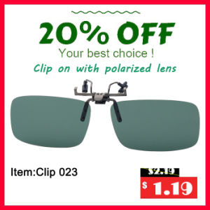 Customer Plastic Reuseable Circular Polarized 3D Clip-on Eyewear Glasses pictures & photos