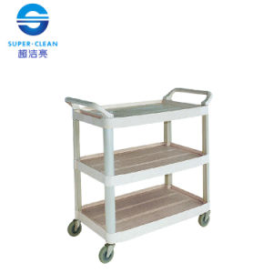 Large Dinner Trolley, Janitor Cart for Restaurant Without Bucket pictures & photos