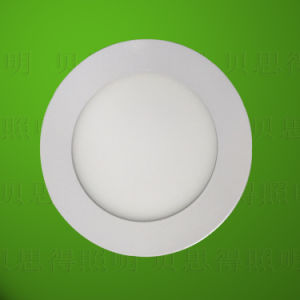 6W SMD5730 Round LED Panel Light pictures & photos