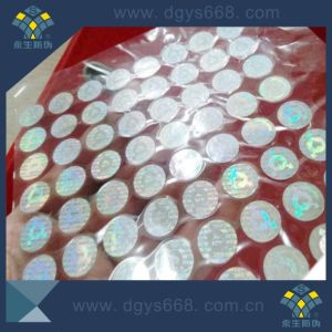 Rainbow Hologram Anti-Fake Stickers Security Label in China pictures & photos