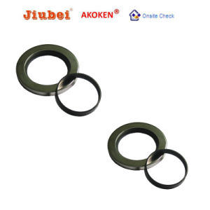 Double Lips Stainless Steel PTFE Oil Seal Air Compressor Part pictures & photos