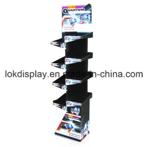 Pre-Assembly Paper Board Display Racks, Point of Sales Display Stands pictures & photos
