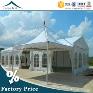 Ruxurious Aluminum White 5X5 PVC Wedding Tent Marquee with Pagoda Pole Canopy pictures & photos