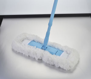 Telescopic Handle Chenille Microfiber Feather Flat Mop (1019) pictures & photos
